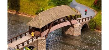 Train électrique : FALLER F120494 - Vieux pont en bois