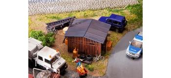 FALLER F130524 - Remise de jardin accessoires