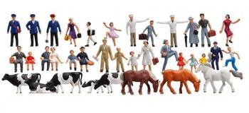 FALLER F155253 - Set 36 figurines N
