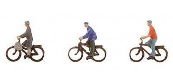 Modélisme ferroviaire : FALLER F155333 - Personnages cyclistes N