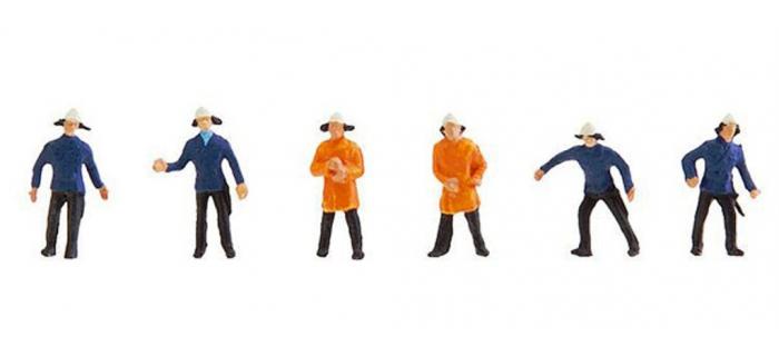 Modélisme ferroviaire : FALLER F155337 - Pompiers N