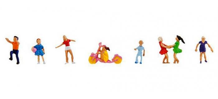 Modélisme ferroviaire : FALLER F155338 - Figurine enfants qui jouent N