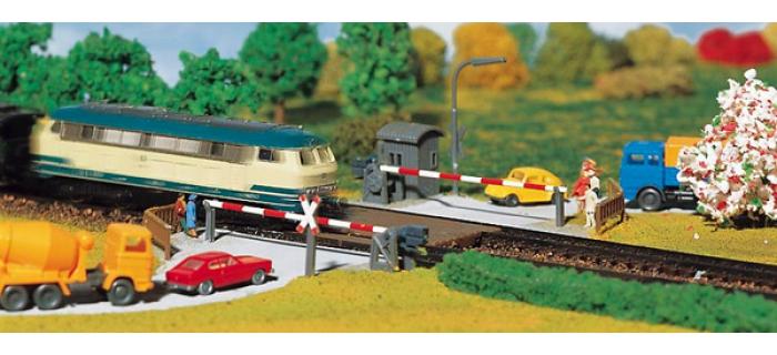 Modélisme ferroviaire : FALLER F222172 - Passage à niveau N
