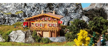 Train électrique : FALLER F232356 - Refuge haute montagne Moser-Hütte N
