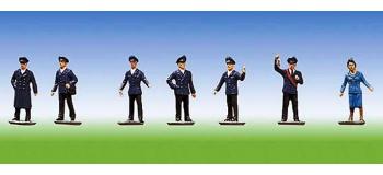 Modélisme ferroviaire : FALLER F155301 - Employes personnel train N