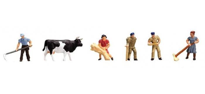 Modélisme ferroviaire : FALLER F155335 - Figurines a la campagne N