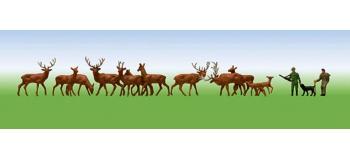 modélisme ferroviaire : FALLER F155511 - Forestiers, garde forestier N