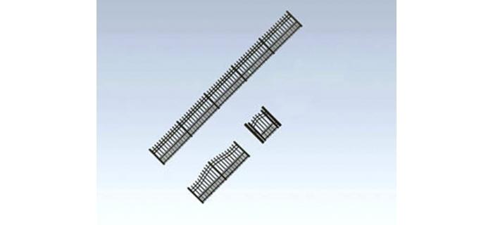 FALLER F180411 - Clôture de jardin en fer