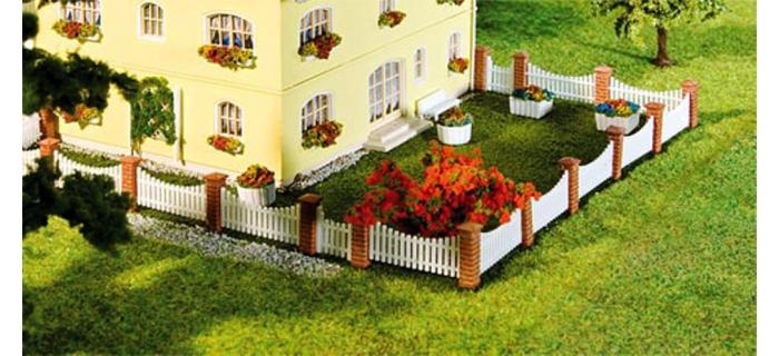 Train électrique : FALLER F2724089 - Clôture de jardinet