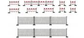 Modélisme ferroviaire : FALLER F180435 - Clôtures Barrage