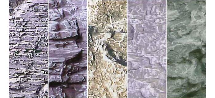 modelisme ferroviaire heki 3137 feuille rochers