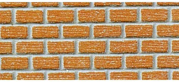 Plaque de mur en briques
