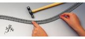 R8090 Rail Semi Flexible 914 MM