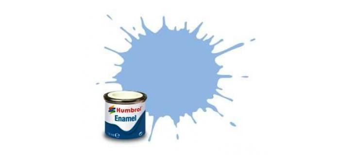 Peintures à maquettes et modélisme ferroviaire HUMBROL HUM20044 - AA0044 - Bleu Pastel Mat