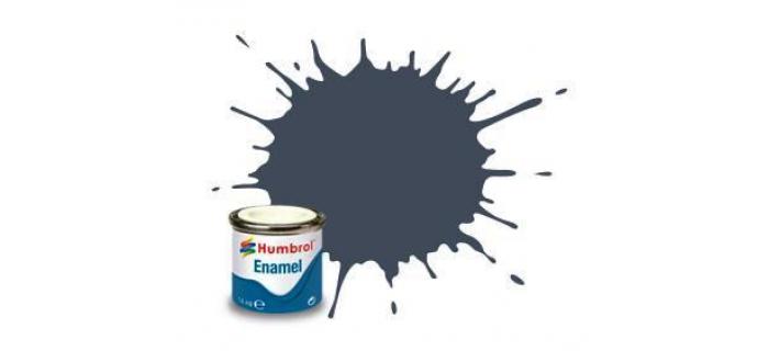 Peintures modelisme ferroviaire HUMBROL HUM20017 - AA0850 - N°1 Bleu marine mat