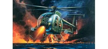 ITALERI I017 - Hélicoptère AH-6 Night Fox