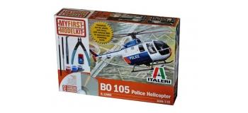 Maquettes : ITALERI I12003 - Hélicoptère de police Bo 105
