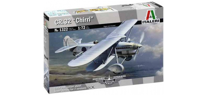 Maquettes : ITALERI I1322 - Avion Fiat CR.32