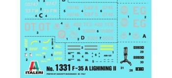 ITALERI I1331 - Avion F-35A Lightning II