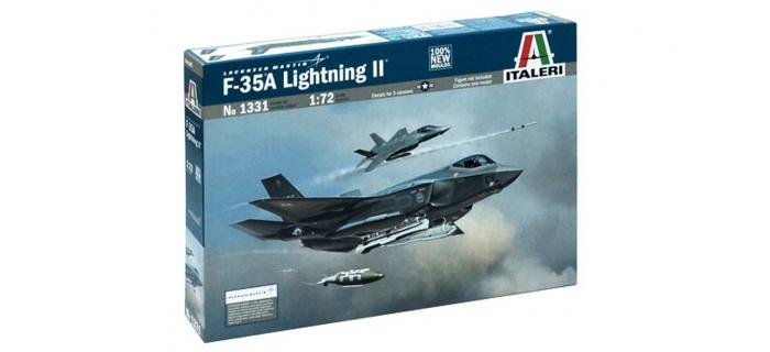 Maquettes : ITALERI I1331 - Avion F-35A Lightning II