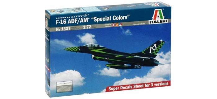 Maquettes : ITALERI I1337 - Avion F-16 Special Colors