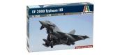 Maquettes : ITALERI I1340 - Avion EF-2000 Typhoon Biplace
