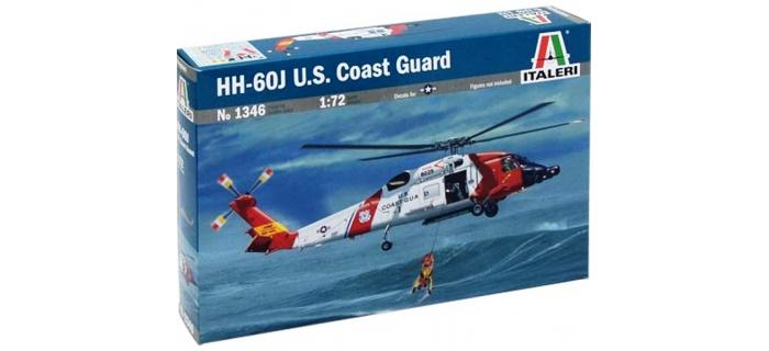 Maquettes : ITALERI I1346 - Hélicoptère HH-60J Jay Hawk US Coast Guard