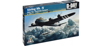 Maquettes :  ITALERI I1361 - Short Stirling Mk.IV