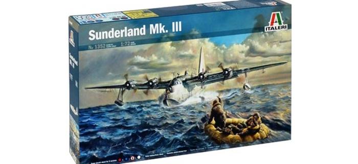 Maquettes : ITALERI I362 - Short Sunderland Mk.III