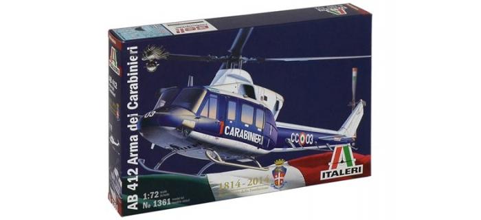 Maquettes :  ITALERI I1361 - Bell AB212 Carabinieri
