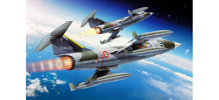 ITALERI I2502 - Avion F-104G/S Starfighter