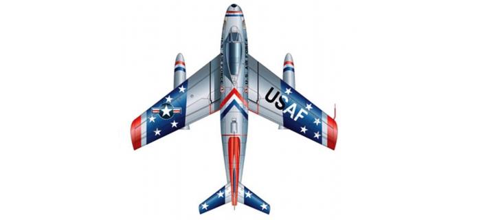 ITALERI I2503 - Avion F-86F Sabre Skyblazers