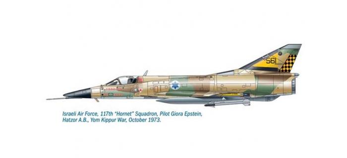 ITALERI I2721 - Avion Nesher/Dagger/Mirage V