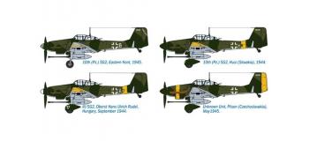 ITALERI I2722 - Avion Junkers Ju87G-2 Stuka