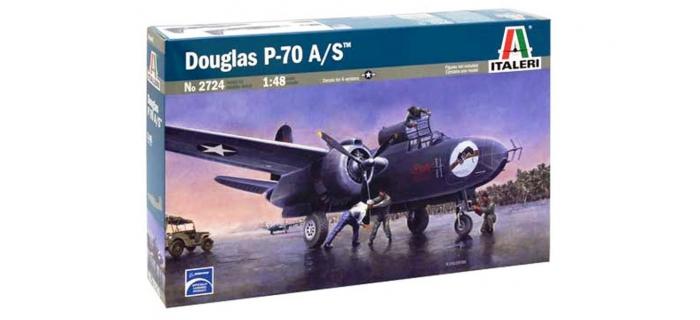 Maquettes : ITALERI I2724 - Avion Douglas P-70A/S