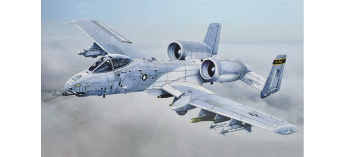 ITALERI I2725 - Avion A-10C