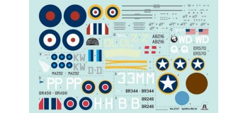 ITALERI I2727 - Avion Spitfire Mk.Vc