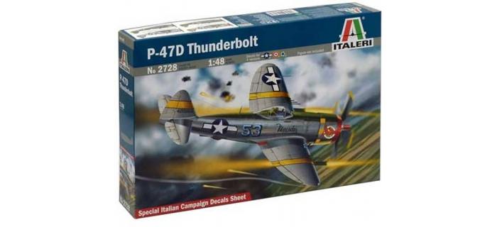 maquettes : ITALERI I2728 - Avion P-47D Thunderbolt