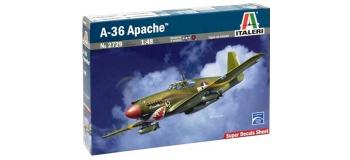 Maquettes : ITALERI I2729 - Avion A-36 Apache