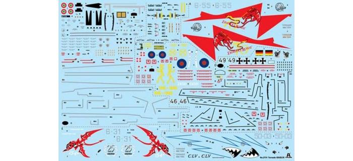 ITALERI I2731 - Avion Tornado IDS/ECR Special Colors