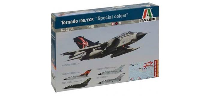 Maquettes : ITALERI I2731 - Avion Tornado IDS/ECR Special Colors