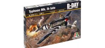 Maquettes : ITALERI I2734 - Hawker Typhoon Mk.Ib Late
