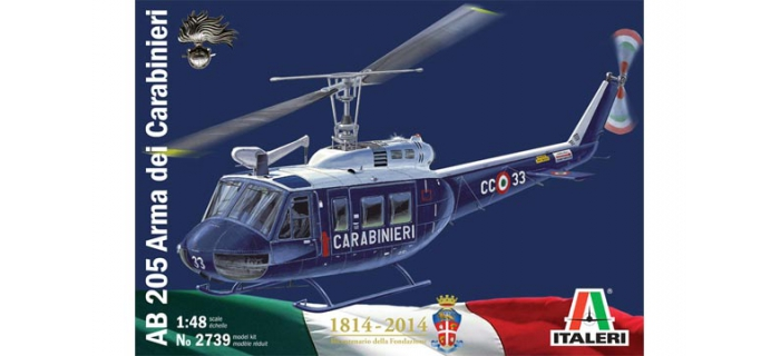 ITALERI I2739 - Bell AB 205