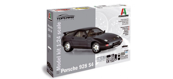 Maquette : ITALERI I3656 - Porsche 928 S4