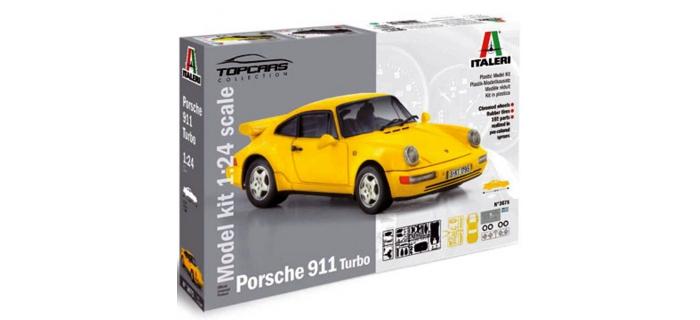 Maquettes : ITALERI I3675 - Porsche 911 Turbo