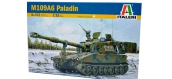 Maquettes : ITALERI I372 - M109A6 Paladin