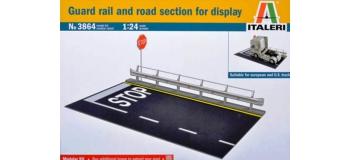 Maquettes : ITALERI I3864 - Section de route et glissière