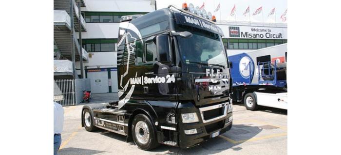 cabine de camion man tgx xxl i3877 italeri camions