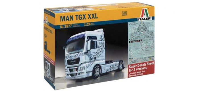 Maquettes : ITALERI I3877 - Cabine de camion MAN TGX XXL