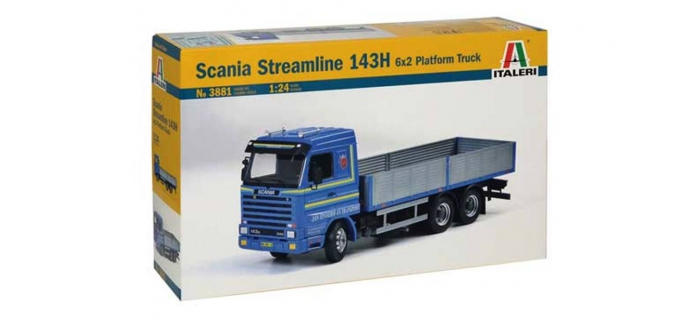 Maquettes : ITALERI I3881 - Camion Scania Streamline 143H 6x2